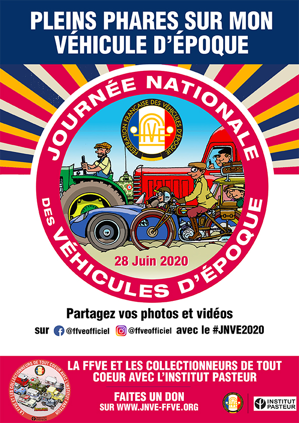 Prenez-vous en photo avec l'affiche imprimée et partagez votre photo sur votre page Facebook et votre page Instagram avec le #JNVE2020.